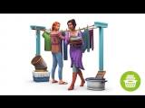 Официальный трейлер каталога «The Sims 4 День стирки» для Xbox One и PS4