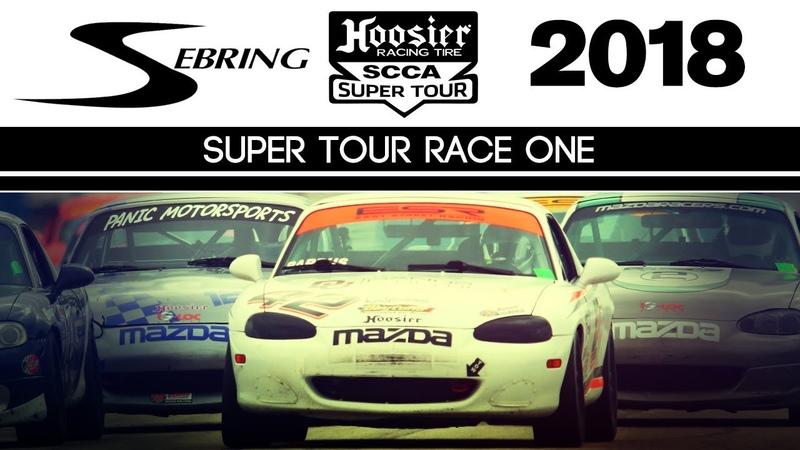 2018 Hoosier Super Tour Sebring | Race 1 | Spec Miata