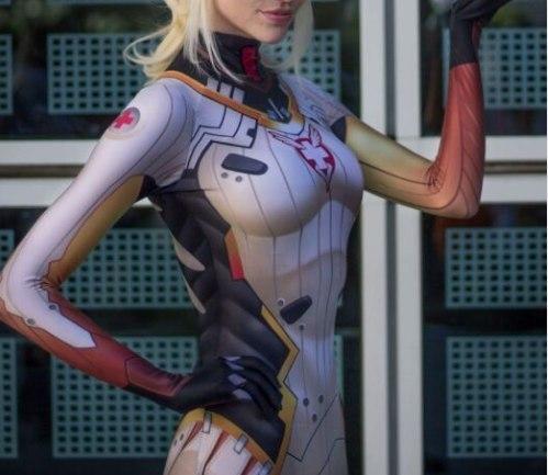 Костюм Ангела из Overwatch -