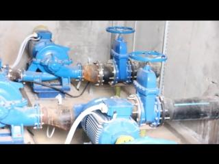 Автоматизация насосной станции орошения на основе преобразователей частоты VACON