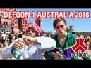 Slendy @ Defqon.1 Australia 2018 | Hakk Battles, Weet Bix Skitz Times