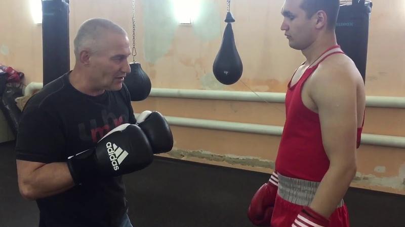 Н.П. Исаев, ближний бой в боксе