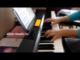 Е. Дога - СОНЕТ - фортепиано+синтезатор - Alive music