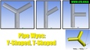 ANSYS Design Modeler - Pipes Y-Shaped/T-Shaped - Intermediate Tutorial 4