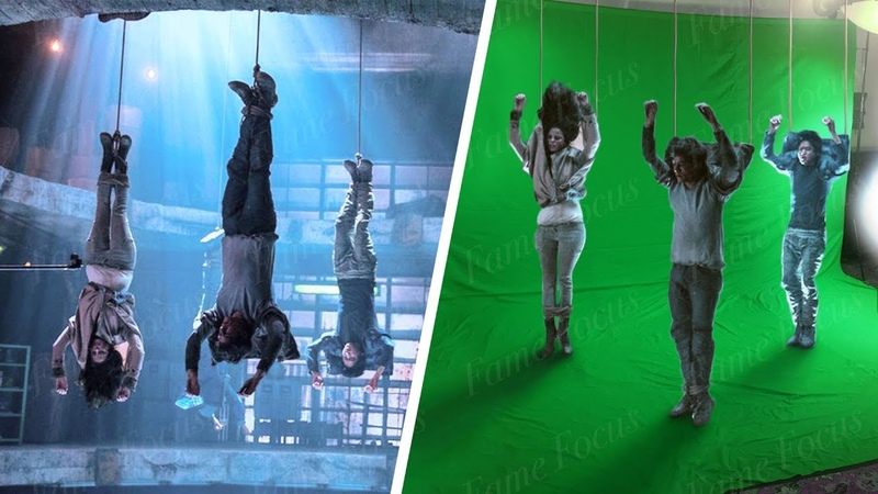Amazing Before After Hollywood VFX: The Maze Runner Trilogy