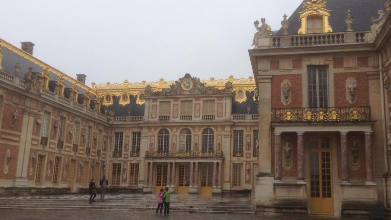 замок Версаль в Париже