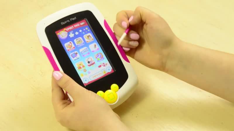 Интерактивный учебный планшет Spirit Pad