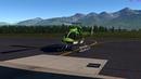 X Plane 11 Dreamfoil Bell 407 Landing