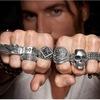 Рокфантазия серебряные мужские цепочки браслеты