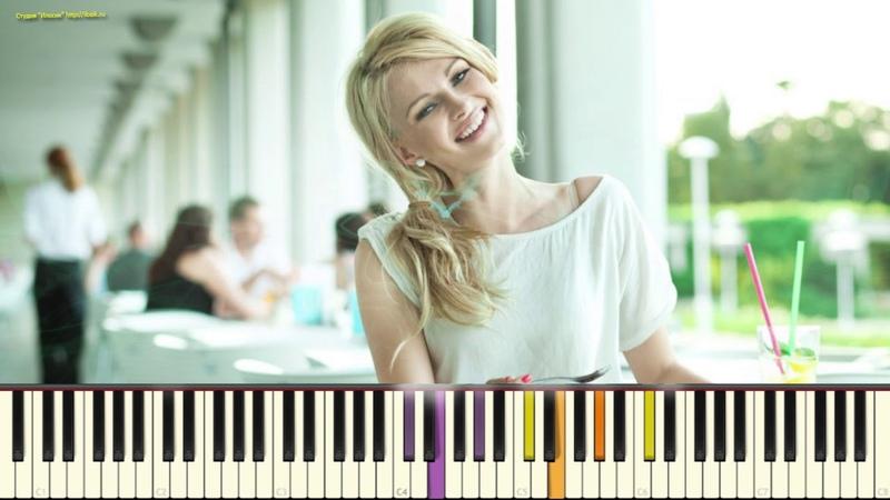 Ах какая женщина гр Фристайл Караоке piano cover