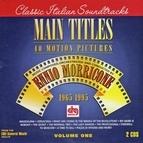 Ennio Morricone альбом Morricone, Ennio - Main Titles - Music By Ennio Morricone For 40 Motion Pictures