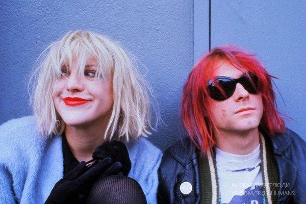 Courtney Love & Kurt Cobain