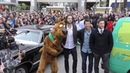 Scooby Doo Jared Padalecki Misha Collins and Jensen Ackles attend PaleyFest for Supernatural
