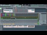 Uplifting Trance в  FL Studio. Бас