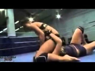 Wrestling Female - Young Girl Bikini 2014