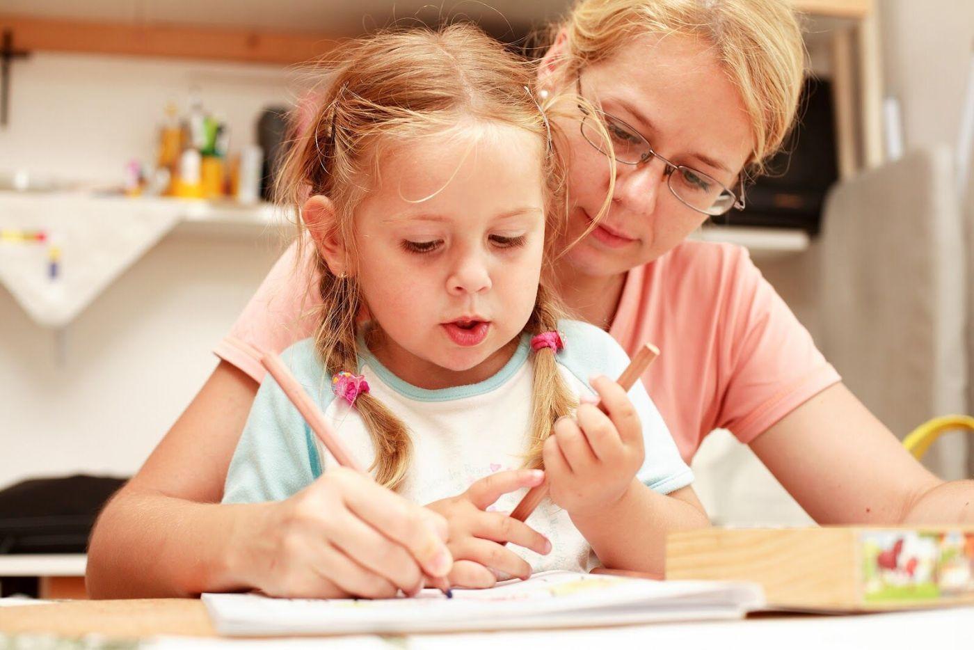 Обучение ребёнка в домашних условиях в 4 года