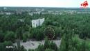 Зона отчуждения. Изумрудная зелень и остовы зданий - дрон пролетел над Припятью