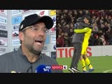 Jurgen Klopp apologises for his celebration and reacts to bizarre late winner!   Liverpool v Everton