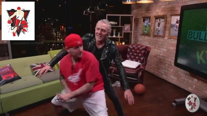 BASKETBALL STAR EMBARRASS TALK SHOW HOST LIVE ON TV
