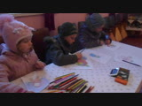 DSCN97318.12.2018 в с.Стадня Золочвського р-н. в Народному дом вдбувся конкурс дитячого малюнка