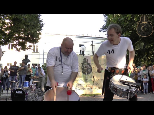 Шоу барабанщиков 44 Drums (Архангельск). Технолог