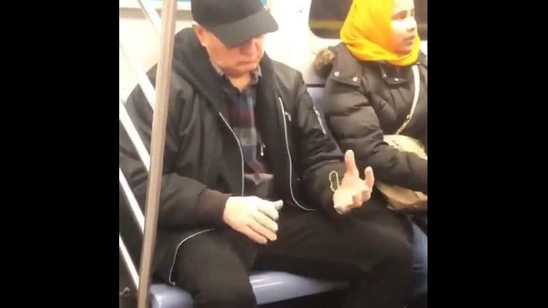 Телепат в метро