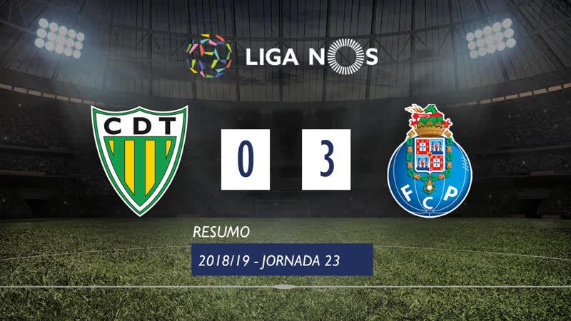 Лига НОШ 2018 19 Тур 23 Тондела Порту 0 3