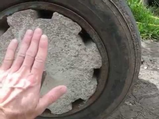 Семья Бровченко. Как увеличить вес мотоблока и цеплять цепи на колеса зимой.