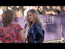 Sarah Jessica Parker arriving on the red carpet during the 2018 Deauville film festival