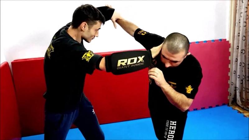 Джиткундо / Панантукан - защита от бокового удара кулаком (не для новичков)