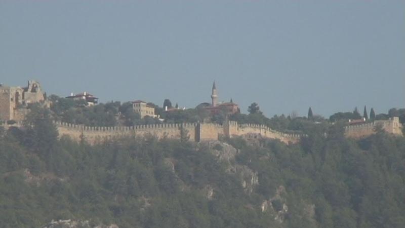 Турция Крепость Аланьи -1 Alanya Kalesi Turkey Alanya Castle Festung Alanya Le Château DAlanya