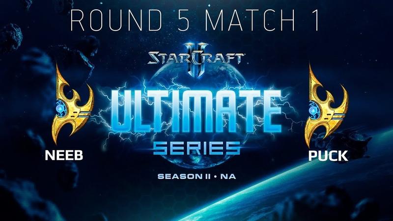 Ultimate Series 2018 Season 2 NA — Round 5 Match 1 Neeb (P) vs puCK (P)