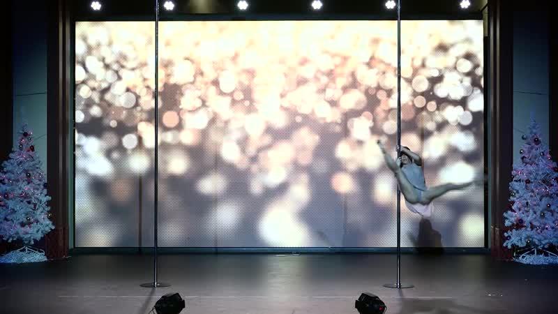 Давиденко Оксана 3 е место Pole Artistic Queens