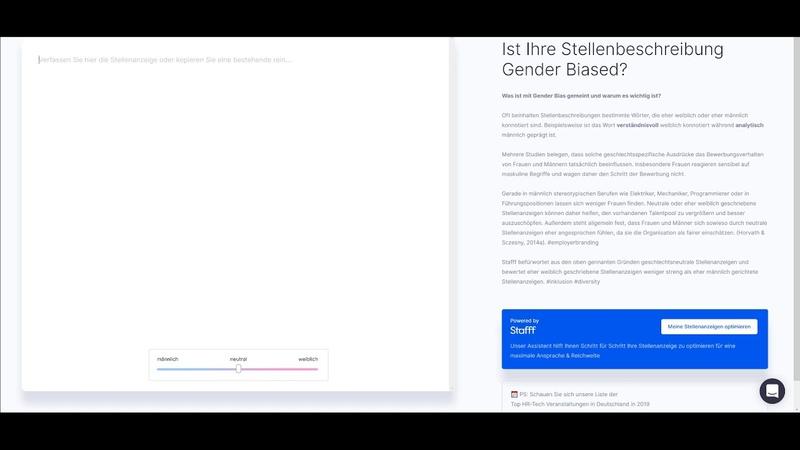 Software deckt unbewusste Gendersprache auf und versagt bei sexistischer Stellenbeschreibung!