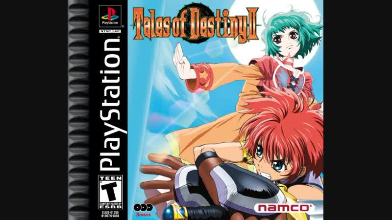 PSOne - Tales of Destiny 2 - прохождение стрим второй