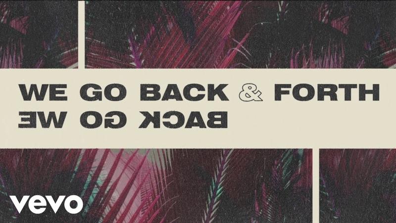 MK, Jonas Blue, Becky Hill - Back Forth (Lyric Video)