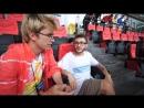 Джарахов дает интервью Первому каналу