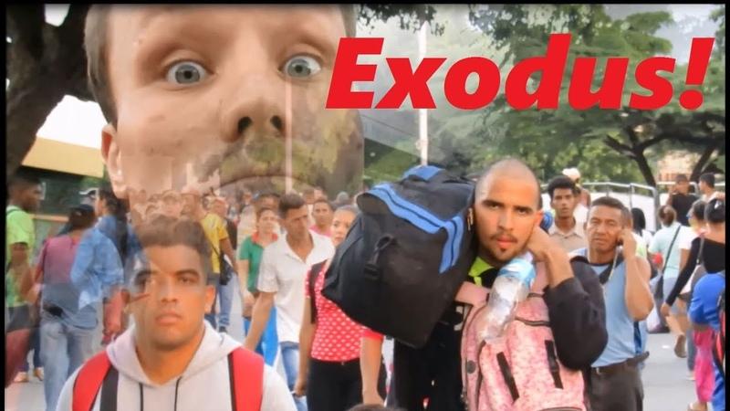 Exodus aus Venezuela – die nächste Völkerwanderung! (D., ENGL.)
