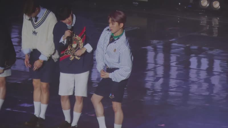 [VK][190414] MONSTA X fancam Talk Time (Kihyun focus) @ The 3rd World Tour We Are Here in Seoul D-2