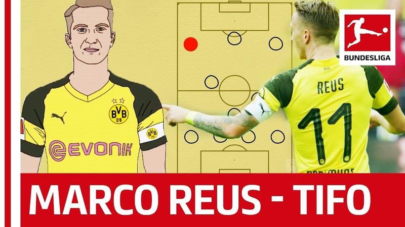 Marco Reus - Borussia Dortmunds Key Player - Powered by Tifo Football