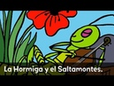 Fairy Tale: The Ant and the Grasshopper (La Hormiga y el Saltamontes) in Spanish from Speakaboos