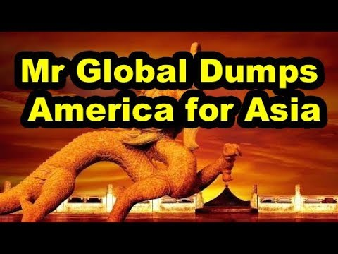 Mr Global Ditches US for Asia, You Funded Secret Space Program For Mr Global w/C.A. Fitts (1of2)