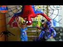 Spiderman. Человек Паук против Трансформера Оптимуса Прайм и Ярославы. Видео для детей