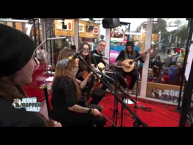 ELUVEITIE Omnos Acoustic LIVE at Jeder Rappen zählt 18 12 2014