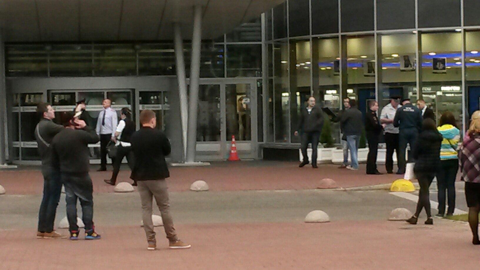 Милиция  эвакуировала гостей  изТК «Жемчужная Плаза»