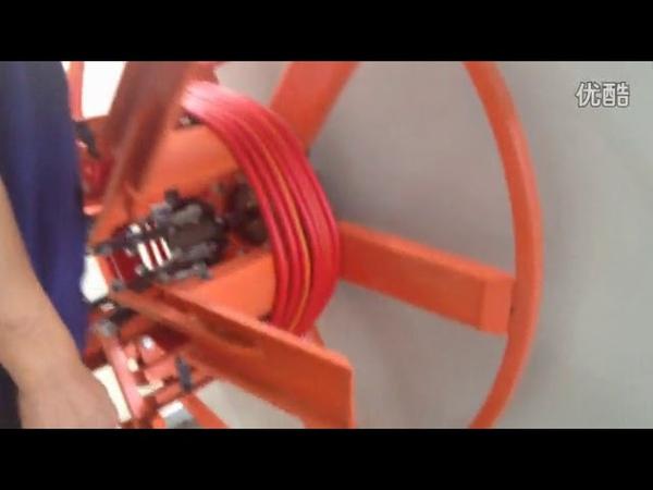 PVC soft pipe line making machine