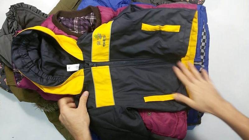 1509 CH Puffa autumn Mix Extra (9 kg) 1пак - детские куртки осень экстра Англия