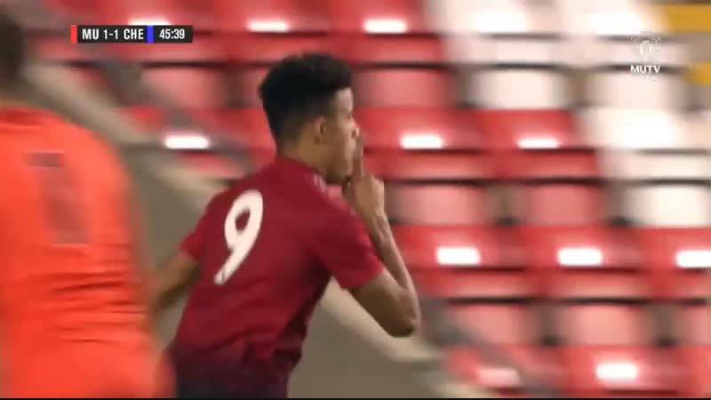 Юношеский Кубок Англии, 3-й раунд. Манчестер Юнайтед - Челси. Гринвуд 2:1