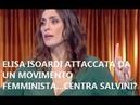Contro Elisa Isoardi le offese delle femministe Pd. PERCHE' E' LA COMPAGNA DI SALVINI?