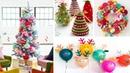 DIY Christmas Decor! Easy Fast DIY Christmas Winter Ideas for Teenagers 13